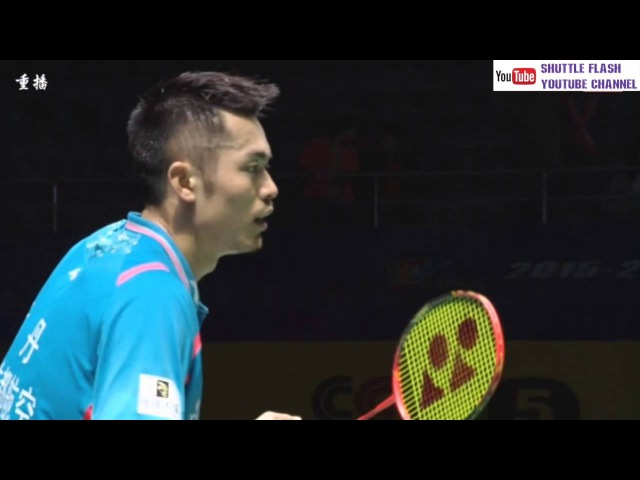 Lin Dan saves 7 GAME POINTS in the Semi Final of CBSL 2016 against Guo Kai