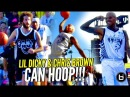Chris Brown Lil Dicky CAN HOOP Chris Brown's Got BOUNCE JELLY Too Full Highlights