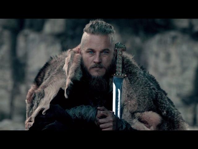 Меч викингов в современном исполнении.