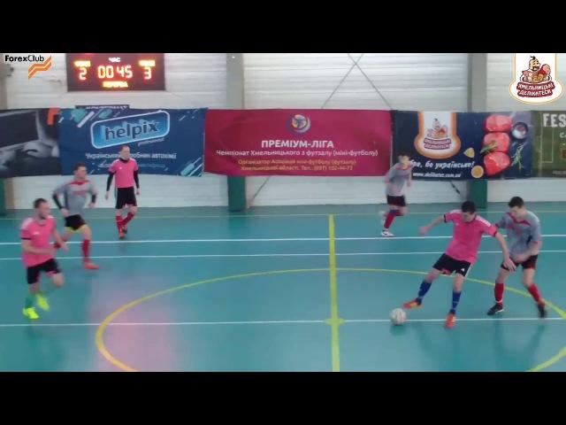 «Crispus» – «Конфермат» - 12:7, Дивізіон 3, 1/2 фіналу