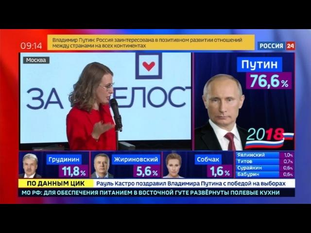Новости на «Россия 24» • У кандидатов в президенты нет серьезных претензий к прозрачности кампании