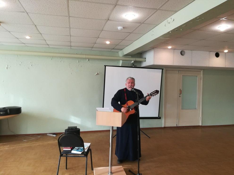 творческая встреча с протоиреем Сергием Муратовым