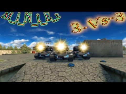 Tanki Online 2 |XR / VR| 3v3 |Bull,Put_Your_Hands_Up M_i_N_t_E_r|