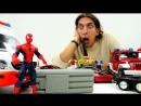 Видео промашинки АВАРИЯ и Бомба ЧеловекПаук спешит на помощь Видео игры для детей супергерои
