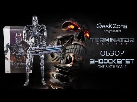 Обзор фигурки Эндоскелета — Hot Toys Terminator Genisys 1/6 Endoskeleton Review