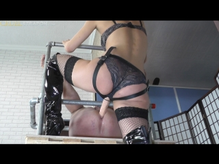 [Cruel-Strapon] Mistress Bella - Strict And Forceful Mistress [2017 г., Femdom, Domination, Pegging, Strapon, 1080p]