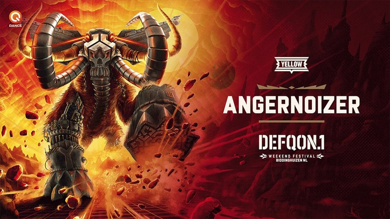 The Colors of Defqon.1 2018 | YELLOW mix by Angernoizer