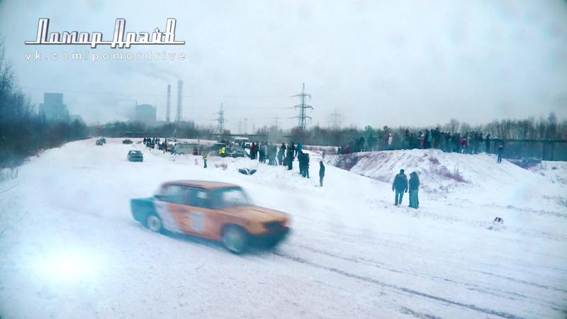 Ледовые гонки в Новодвинске (Cinematic Trailer)