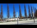 Парк Сергея Галицкого у стадиона ФК Краснодар, 6 марта 2018