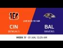 NFL 2017-2018 / Week 17 / Cincinnati Bengals - Baltimore Ravens / CG / EN