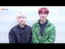 171214 BTS Jhope Suga on Youku
