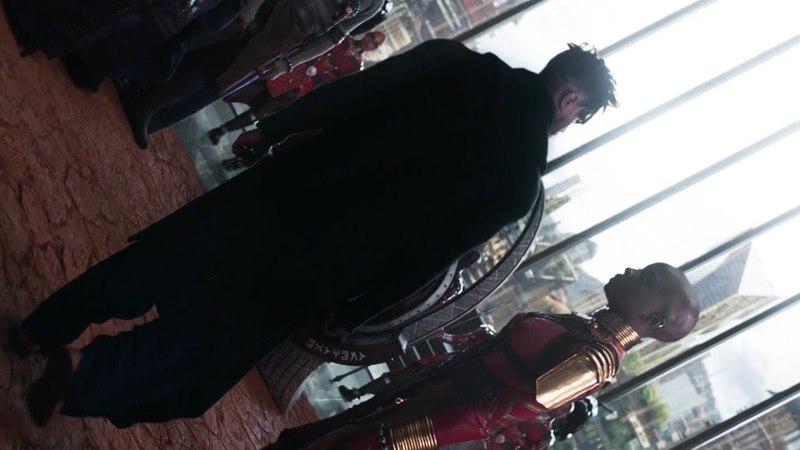 Killmonger Throne Scene HD Black Panther 2018 - Rescored - Burn it all