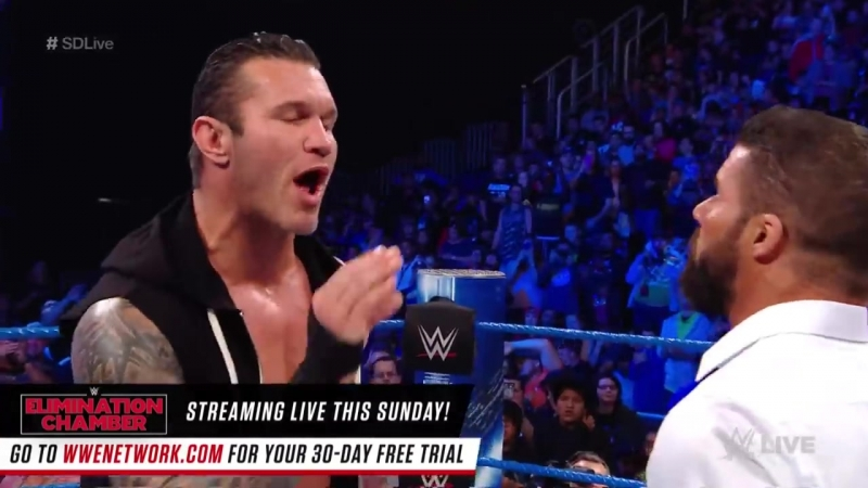 SmackDown LIVE, Feb. 20, 2018 Roode, Mahal and The Viper once again come to blows after heated exchange