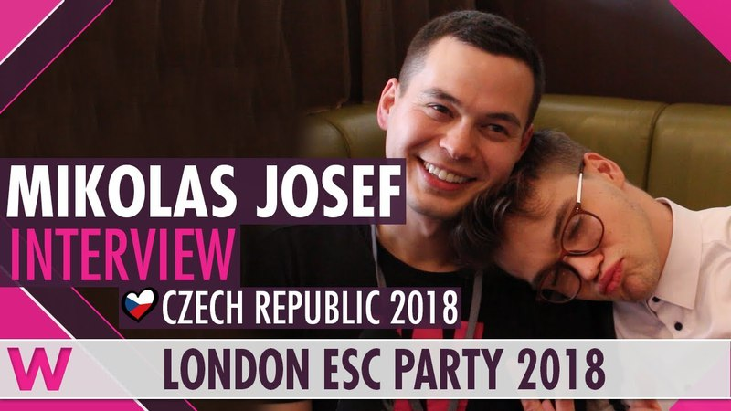 Mikolas Josef (Czech Republic 2018) Interview | London Eurovision Party 2018