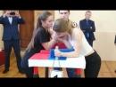 На турнире по армрестлингу в Вурман-Сюктерской школе
