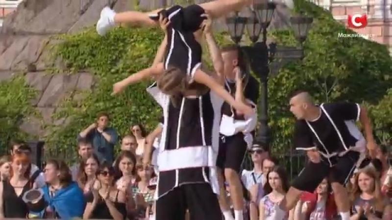 Команда Черных Групповой номер Батл на Софиевской площади Танцуют все Сезон 9 Выпуск