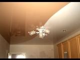 Натяжной потолок, спайка двух цветов vk.com/okna47dveri тел. 8 (81365) 2-03-98; 8-962-696-08-55. г. Подпорожье
