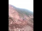 Сеньёра, карамба! Пьяную женщину унесло камнепадом в Перу