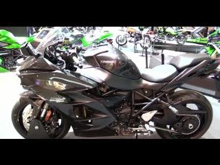 Обход Kawasaki Ninja H2 SX, EICMA Milan 2017