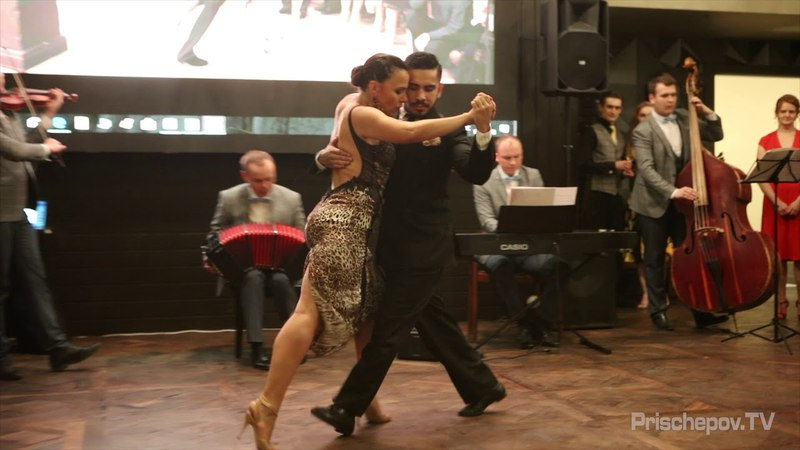 "Virginia Pandolfi Jonatan Aguёro, 2, Moscow, TANGO EVENT MILONGA ""BLUE MAGIC ROSE"" ADORNOS"