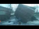 В Прикамье грузовой поезд сошел с рельсов
