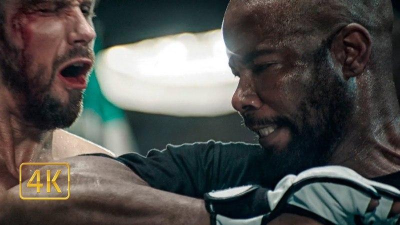 Кейс (Майкл Джей Уайт) против Кобры. Спарринг бой. Никогда не сдавайся 3 (2016)