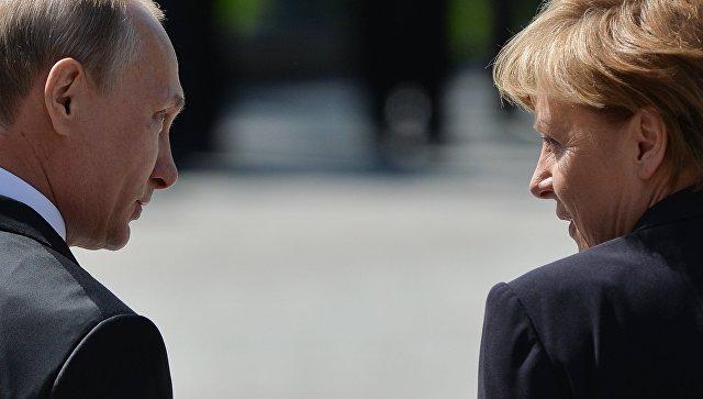 В ФРГ сделали заявление по предстоящей встрече Меркель и Путина