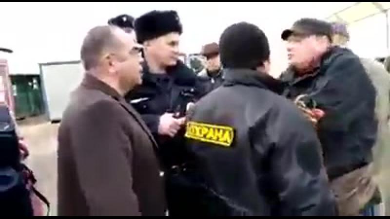 Управляющий Азнауров Г.А. сбил волонтера приюта Щербинка