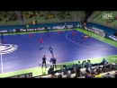UEFA Futsal Euro / Slovenia 2018 - Round 2 / Group D France 3x5 Azerbaijan