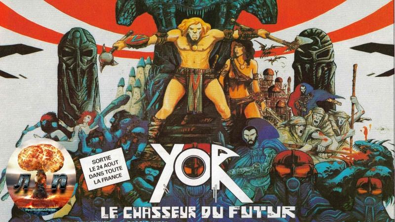 ☠ Йор, охотник будущего / Il mondo di Yor (1983) 720HD