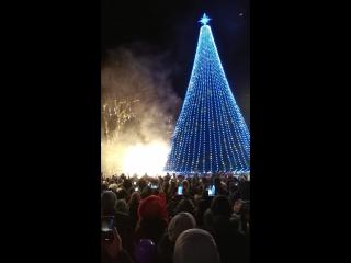 Початок різдвяно новорічних див 2017-18 у Івано-Франківську )