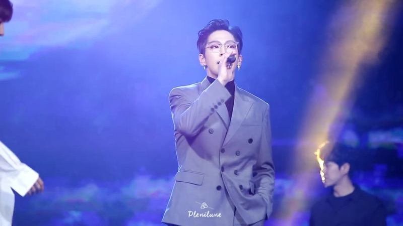 29.11.17 B.A.P HONEYMOON Himchan 힘찬.ver @ MBN Hero Concert