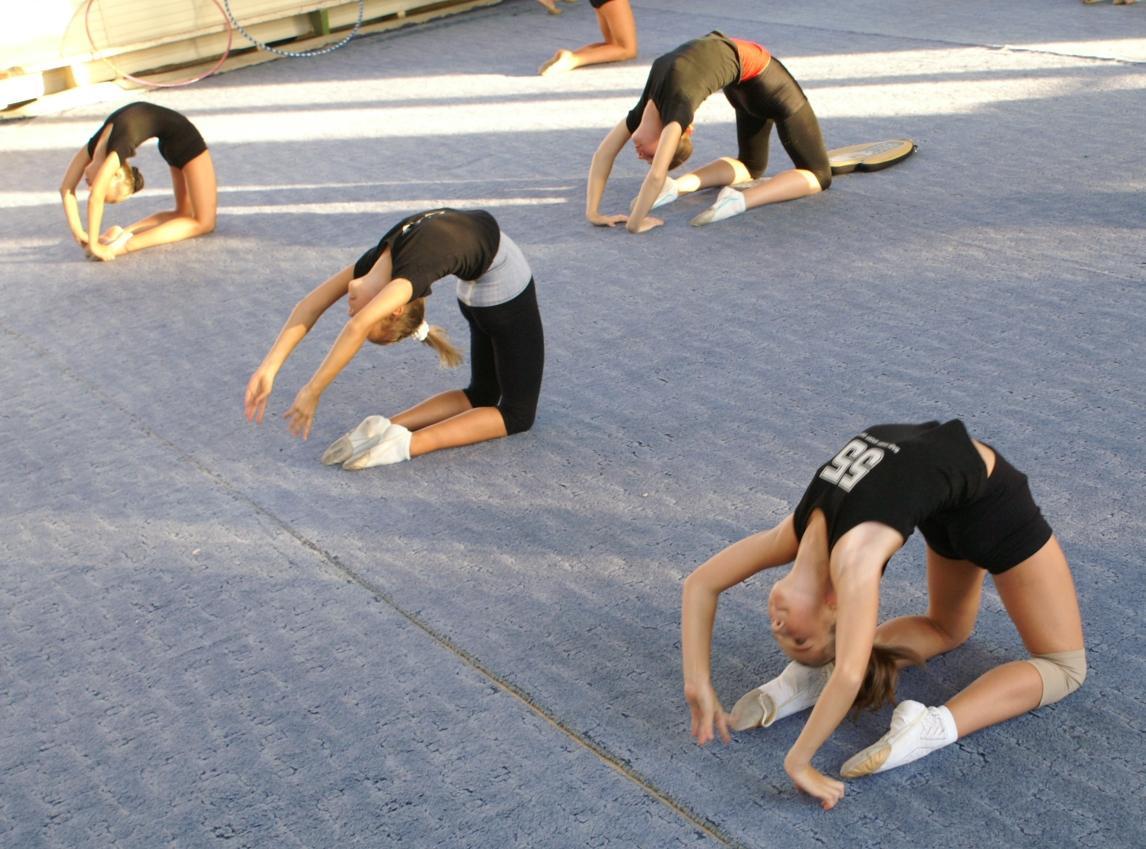 Гимнастка на тренировке выколола глаз палкой