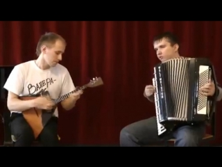 Руднев Валерий (балалайка) Пищальник Сергей (аккордеон) 27/04/2012
