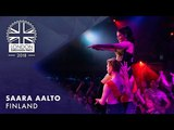 Saara Aalto - Monsters - FINLAND LIVE OFFICIAL 2018 London Eurovision Party