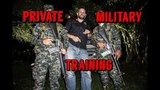 Sneak Preview Training With The Elite Private Military Forces of Bone Tactical