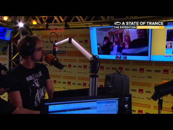A State of Trance 600 Sao Paulo - Ruben de Ronde ,Tomas Heredia, Orjan Nilsen