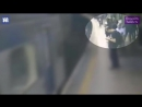 В Бразилии мужчина толкнул пассажирку метро под поезд Она отделалась переломом руки