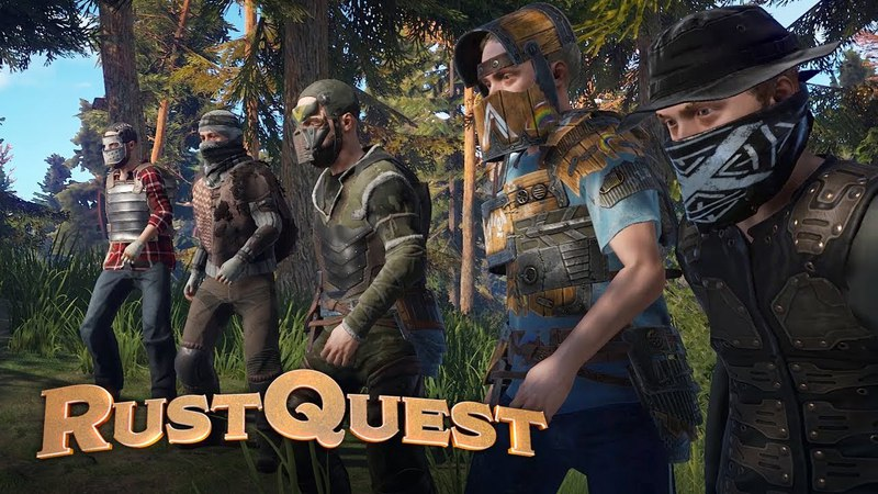 RustQuest | Ep. 1 - SENTINEL'S POINT (Rust DD)