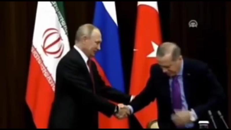 Putin mit Freund Erdogan, dem Verlässlichen.