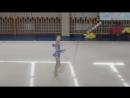 Катя Козлова. турнир памяти Урванцевой. булавы. 27.08.17