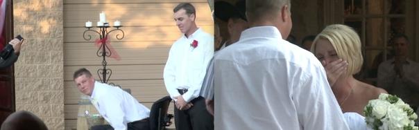 Эта женщина собиралась замуж за инвалида в коляске. Но то, что произошло на свадьбе, просто невероятно!