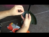 How to Change the Automatic Feed Spool (AFS) line on Black Decker Trimmers