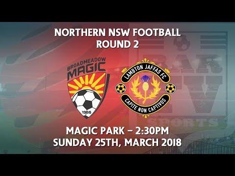 2018 NNSWF NPL Round 2 - Broadmeadow Magic FC v Lambton Jaffas