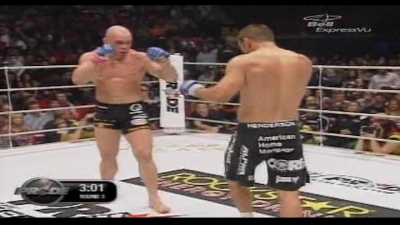 Dan Henderson vs. Wanderlei Silva [PRIDE 33] 24 02 2007