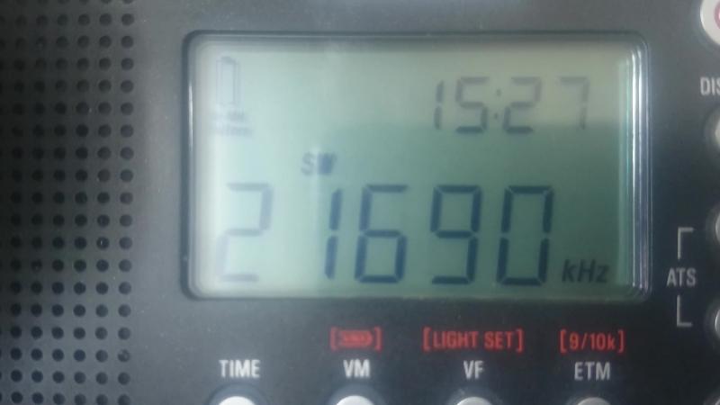 21690kHz-RADIO FRANCE INTERNATIONAL(Talata-Volonondry)(Madagascar)~8991km