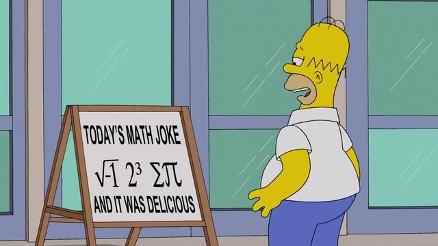 Homer and the math