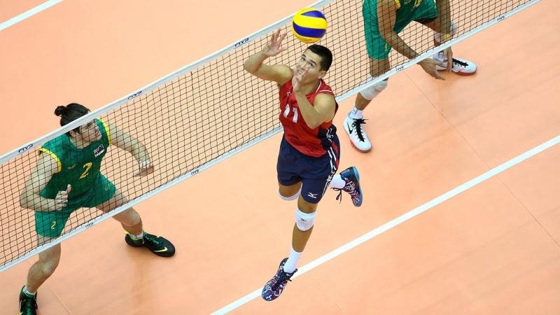 Micah Christenson Volleyball setter