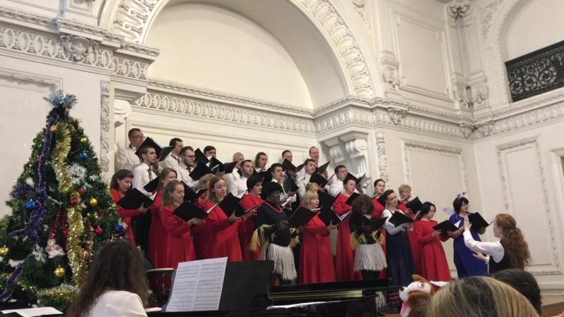 Камерный хор Нижний Новгород - Новогодний концерт 2017.12.23