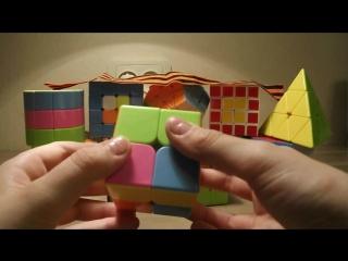 Обучение сборки кубик-Рубика 2*2
